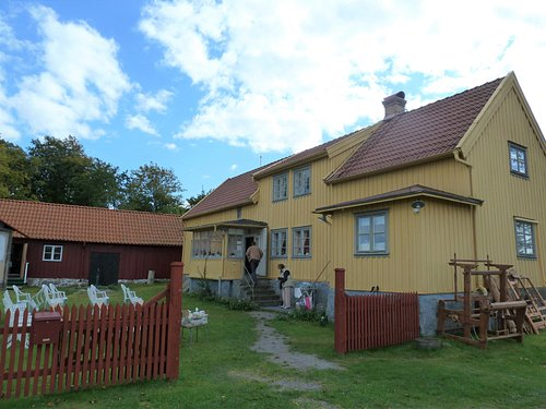 Hembygdsgården Apelrödsgården i Onsala