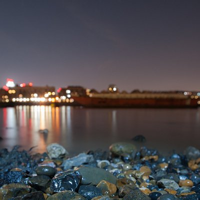 The Thames from the foreshore.