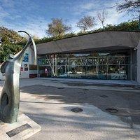 Entrance Olimpic Museum