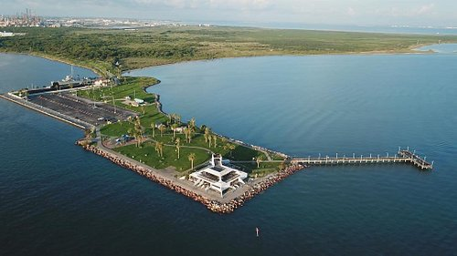 Arial image of Seawolf Park