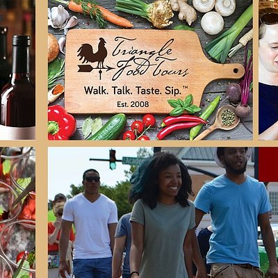 You'll love walking in downtown Cary, North Carolina with Triangle Food Tours, sampling foods!