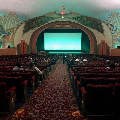 Avalon Theater inside the Catalina Island Casino