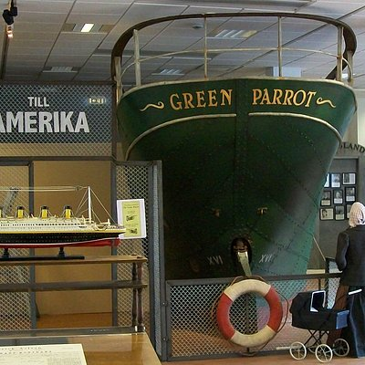 Green Parrot, första båtresan i livet för många. Den gick oftast till Hull. Kom hit och ta chansen att gå in i båten för att känna på hur det var att åka till England för ca 100 år sedan!