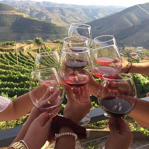 Happy in the  Douro Valley