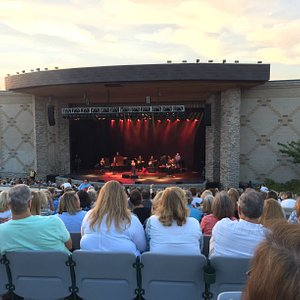 August 25th with Amy Grant. We had a lovely evening!