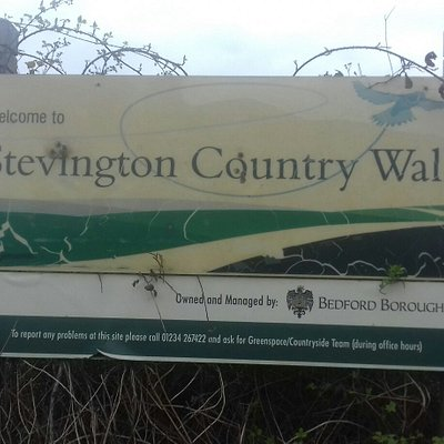 Stevington railway walk.