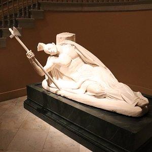 Una bella escultura