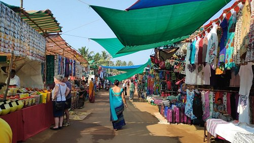 The Anjuna Market!