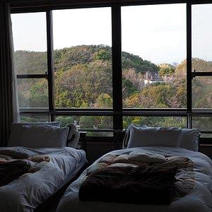 眺めもよく、和洋室のお部屋です