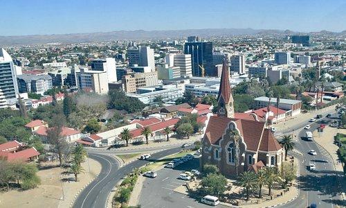 View of Windhoek