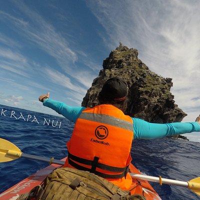Tours en kayak y guiados de snorkel en Rapa Nui