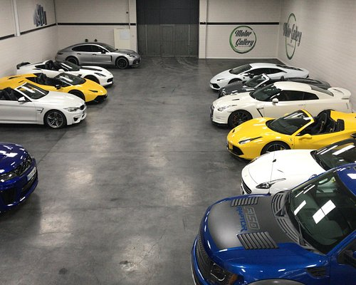 Some of our cars, ready to be ride!