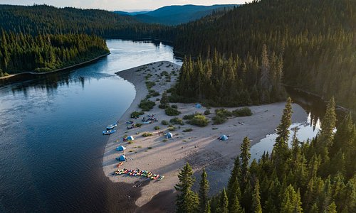 Magpie River - Camp on night 5