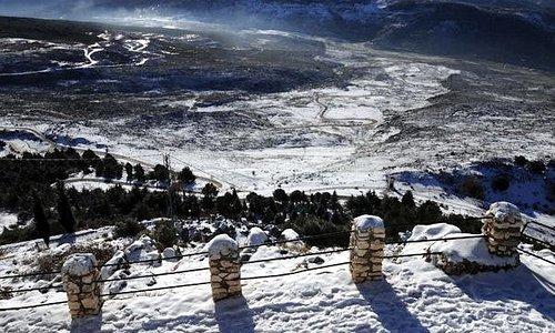 """Mirador desde """"El Picacho"""" de la Sierra de Cabra, desde donde podrás contemplar unas ipresionantes vistas"""