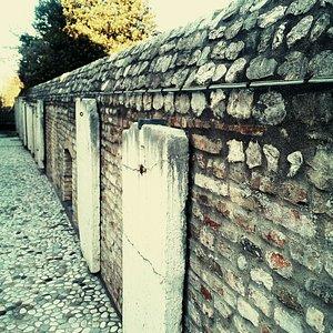 Antiche mura della cinta di Pordenone