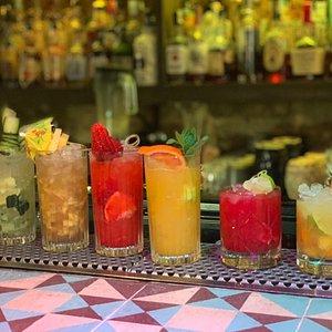 Collage Art & Cocktail Social Club