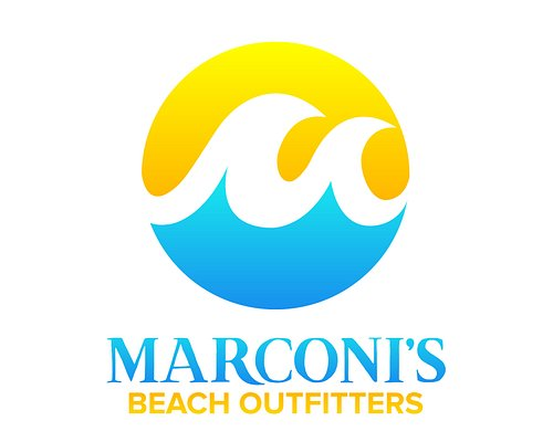 """The Marconi Beach Outfitters famous """"M"""" wave logo is a staple of summer on the Cape. Make sure you stock up on all things MBO."""