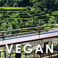 Enjoy the incredible view from our cafe to the rice terraces. Food to life.
