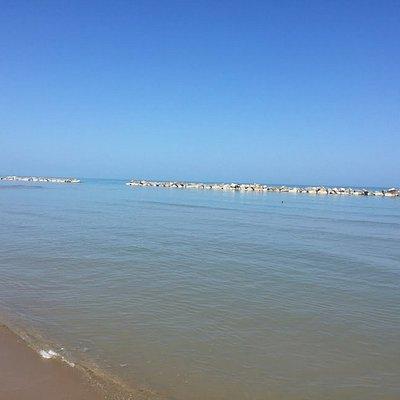 mare dalla spiaggia di S.Antonio