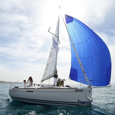 Sailing in Israel. Come sailing and explore the beautiful coastline of Tel Aviv Jaffa