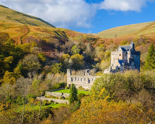 Castle Campbell is a medieval castle situated high above the town of Dollar in Clackmannanshire