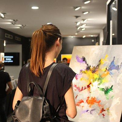 Apertura en la galería Carré d'Artistes - Barcelona