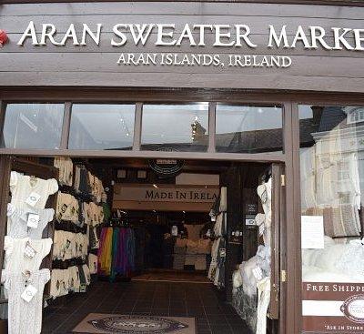 Aran Sweater Market, College Square, Killarney - Home of Aran, Since 1892