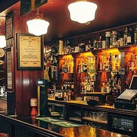 The Back bar at The Villager