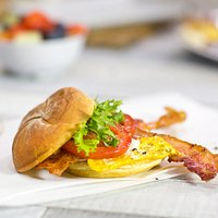 The Egg Bomb BLT
