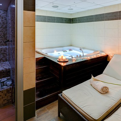 VIP Spa area, when you book our spa area - jacuzzi, sauna, steam room, relax room, only you will be present in there.