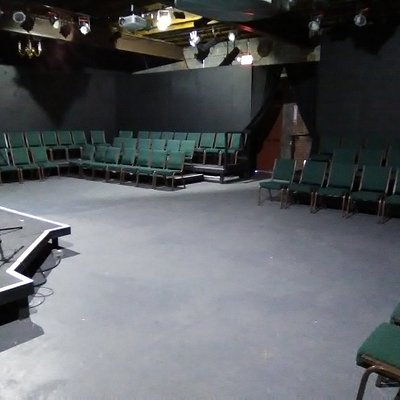 One of the theater configurations.