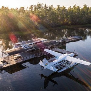 Outback Floatplanes operation at Sweet's Lagoon