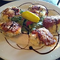 Fried mozzarella was one of the best dishes I ever ate.
