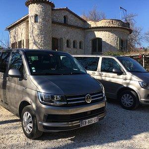 Riviera Premium Tour vans.