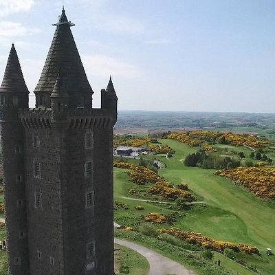 One of Northern Ireland's best known landmarks,  built in 1857 called Scrabo Tower, overlooking the Golf Course.