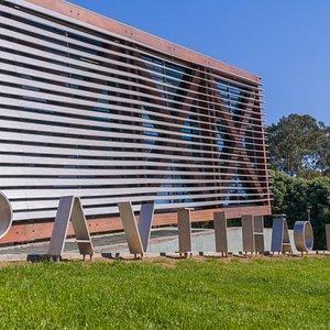 O Pavilhão da Água está instalado em pleno Parque da Cidade do Porto.