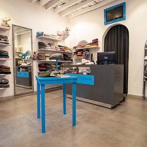 Foto panoramica del negozio