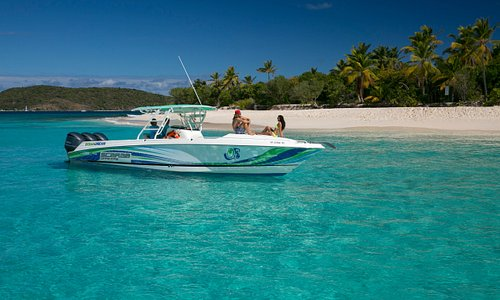 Look at that water! Sandy Cay BVI