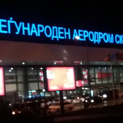 International Airport Skopje Petrovec Taxi Driver