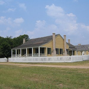 Circa-1859 James Bell House is the centerpiece of our Cotton Planter's Farm.