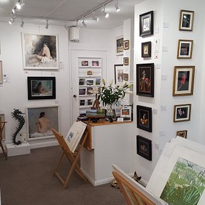 Norton Way Gallery is a small and very select, original fine art gallery.