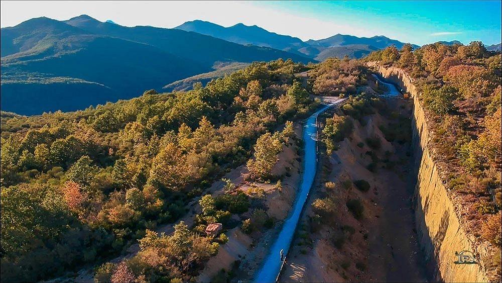 Bosque Fósil de Verdeña. El yacimiento está propuesto como «Lugar de interés geológico español de relevancia internacional».