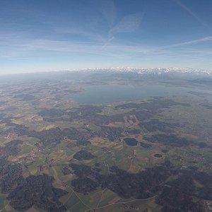 Chiemsee aus 3000 m