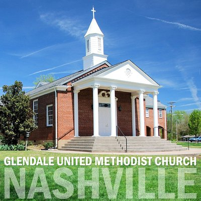 Outside of Glendale United Methodist Church - Nashville featuring the sanctuary.