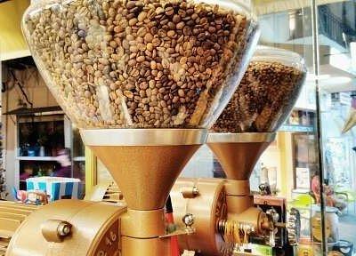Traditional Grinder Coffee Machine for Greek Coffee.