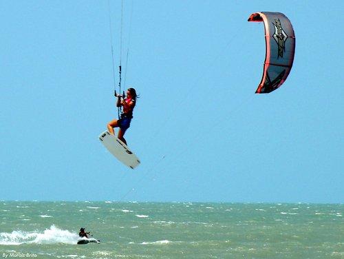Flymancora ofrece los mejores cursos de kite a la puerta de tu hotel!