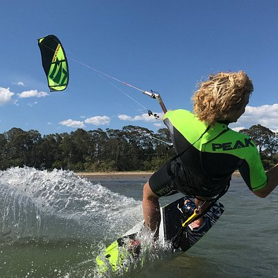Kitesurfing is a safe, fun and exhilarating sport that embraces the elements and is suitable for children through to adults.