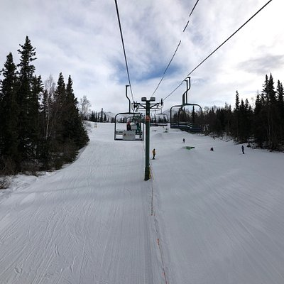 Hilltop Ski. Great for learning to ski or snowboard. Perfect for reintroduction to skiing. We felt like no one else was around. Senior pass :) 16 bucks a day.