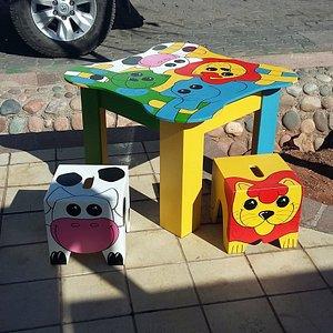 Divertidos mini muebles