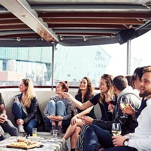No better way to explore Amsterdam than by boat. We offer several options for an unforgettable day!